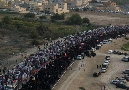 Bahrain: Tens of thousands protest in support of rights activist Nabeel Rajab | Human Rights and the Will to be free | Scoop.it