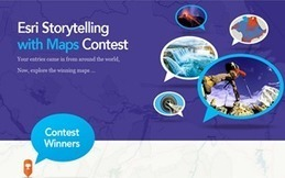 Vencedores do Concurso Storytelling with Maps! | Blog Esri Portugal | Arte de cor | Scoop.it