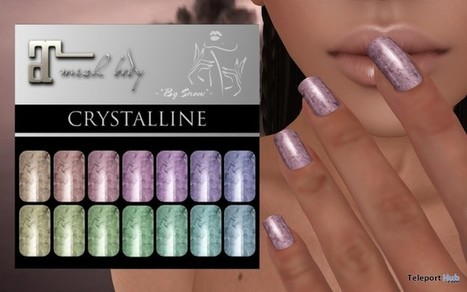 Crystalline Nail Applier For Maitreya Lara Mesh Body by By Snow | Teleport Hub - Second Life Freebies | Second Life Freebies | Scoop.it