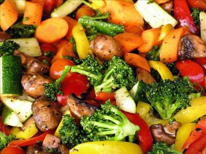 Eating healthy vegetarian foods | Christmas Party Food | Scoop.it
