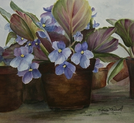 Marsha Robinett Fine Art...watercolor and pencil | My journey inspiration | Scoop.it