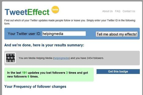 TweetEffect | Social media kitbag | Scoop.it