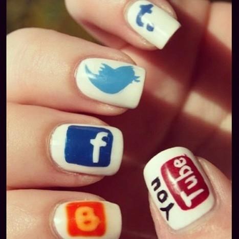 Social Media Tips: Social Media Nails. Remind you where to post...;) | ten Hagen on Social Media | Scoop.it