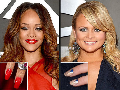 The Grammys Beauty Breakdown: Nail Art Edition | People.com | Shalini's World | Scoop.it