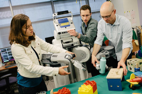 New Approach Trains Robots to Match Human Dexterity and Speed | leapmind | Scoop.it