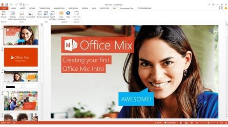 En la nube TIC: Office Mix. Renueva tus presentaciones de PowerPoint | APRENDIZAJE | Scoop.it