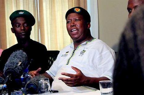 AFRIQUE DU SUD • L'opposant Julius Malema passe à l'attaque | Intervalles | Scoop.it