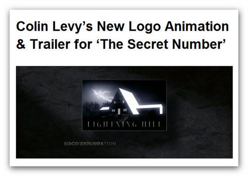Colin Levy's New Logo Animation & Trailer for 'The Secret Number – Blender News