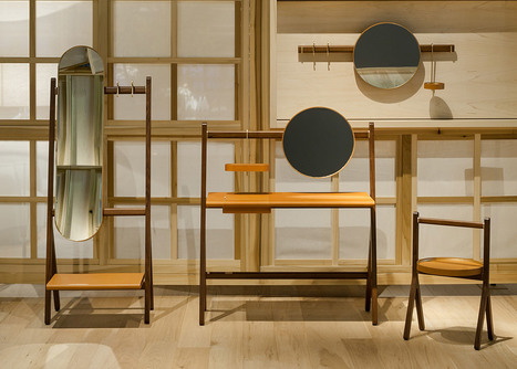 Neri&Hu designs Ren furniture for Poltrona Frau | Italica | Scoop.it