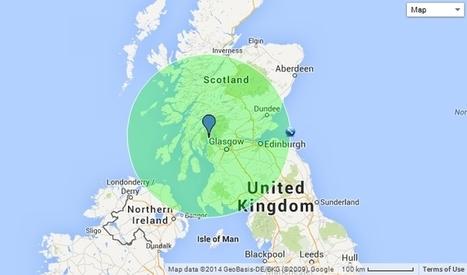 Map Ref. 55°N 5°W | Referendum 2014 | Scoop.it