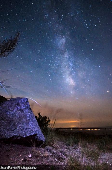AstroPhoto! Fantastique paysage stellaire par Sean Parker | La perception extra-sensorielle durant telephone est en plein impulsion | Scoop.it