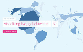 Tweetmap - Visualising live, global tweets | It's business, meu bem! | Scoop.it