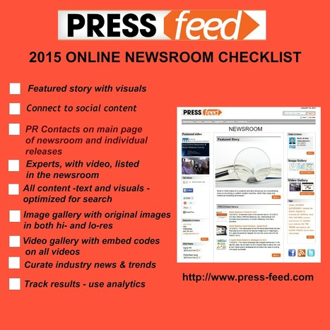 9 Must-Have Online Newsroom Features | The Perfect Storm Team | Scoop.it