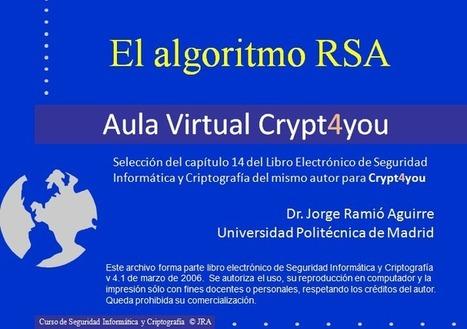 MOOC Crypt4you UPM - El algoritmo RSA   Informática Forense   Scoop.it