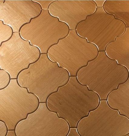 Interlocking Wood Floor Tiles for Parquet by Jamie Beckwith | Trendir | Kitchen and Bath Materials | Scoop.it