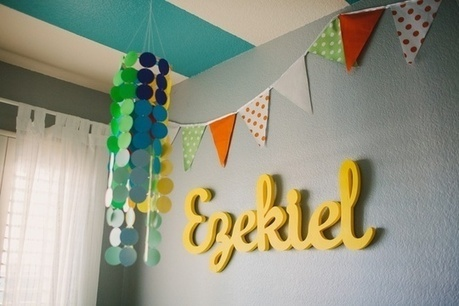 On the Wall:  Name Displays for Children's Rooms | Home Improvements | Scoop.it