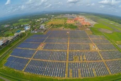 L'aéroport de Cochin devient le premier aéroport solaire | SandyPims | Scoop.it