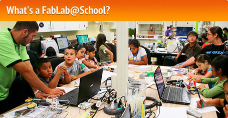 About the FabLab@School Project | STEM Studies | Scoop.it