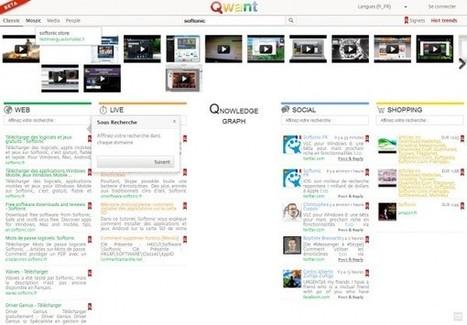 Lancement de Qwant: un moteur de recherche français de nouvelle génération | Jumped on | Scoop.it