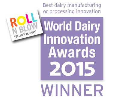 "The best dairy manufacturing innovation in 2015 is ""Roll N Blow"" technology by Serac 