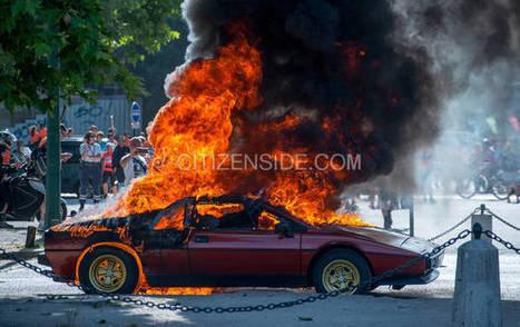 Vincennes : Une Lotus prend feu pendant un rassemblement de voitures anciennes | My Lotus Emotion | Scoop.it