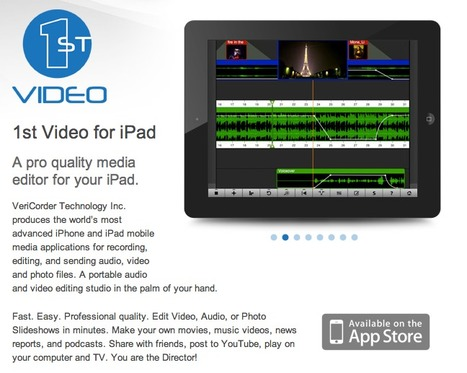 1st Video iPad - Mobile Video Editor | VeriCorder Technology Inc | Emerging Digital Workflows [ @zbutcher ] | Scoop.it