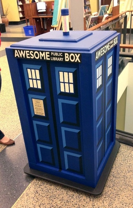 "Bigger on the Inside: Brookline (MA) Public Library's TARDIS ""Awesome Box"" 