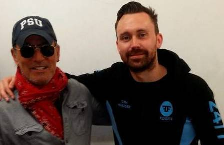 Spotted : Bruce Springsteen flexes his muscles at Dublin gym ahead of Croke Park concerts - Independent | Bruce Springsteen | Scoop.it