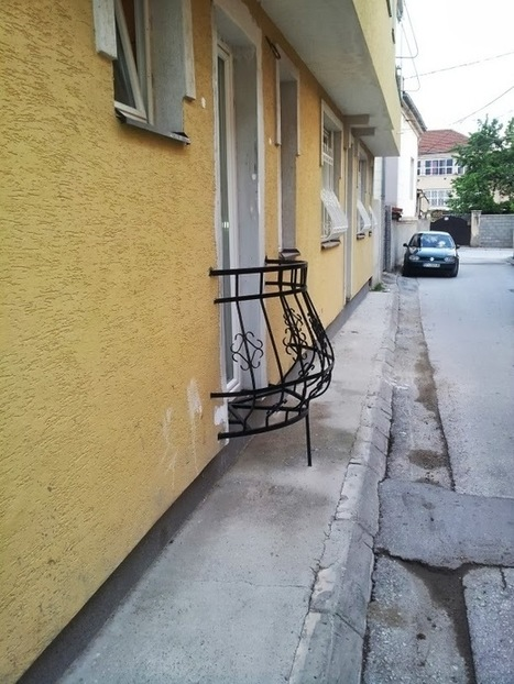 Newparts Piese Auto Originale si Aftermarket: Un balcon extrem de util ?! | Umor | Scoop.it