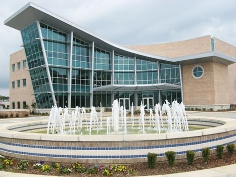 Slidell Cancer Center's Glass Atrium Clad in ALPOLIC Panels | Gormley Work | Scoop.it