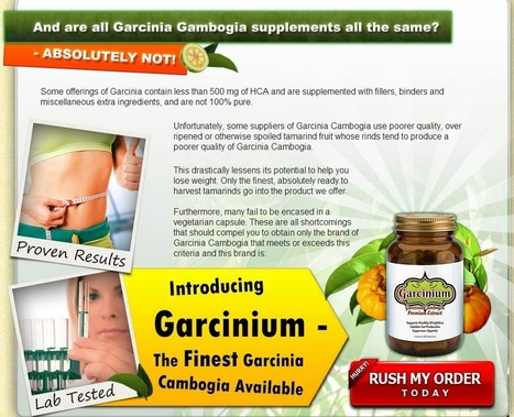 Interested In Garcinium?...Read Here First Before You Try It! | Control Your Weight With Supplement | Scoop.it
