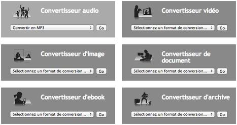 3 outils en ligne pour convertir les formats de fichiers | Web2.0 et langues | Scoop.it