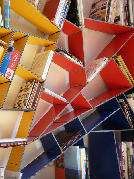 x_shelf – A Modern Alucobond Bookshelf Designed in Grasshopper | Art, Design & Technology | Scoop.it