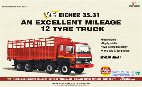 Heavy Duty Truck   Commercial Vehicle in India   Fuel Efficient Trucks   Scoop.it