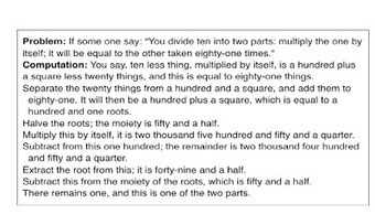 Devlin's Angle: Algebraic roots – Part 1 | Common Core Online | Scoop.it