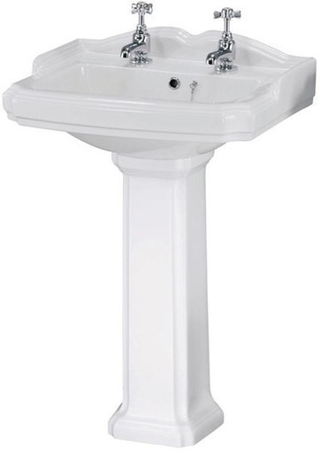 Traditional Toilet With Cistern, Basin & Pedestal. Ultra Beresford U-BERESFORD4P | Showers, Taps & Bathrooms | Scoop.it