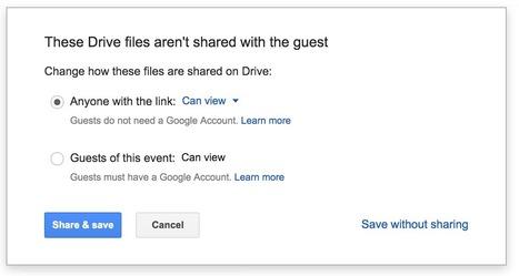 Google Drive Sharing Controls Just Got Even Better | The Gooru | Mr. Frerichs's EdTech | Scoop.it