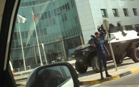 Manama, Bahrain:  Under military occupation in the financial district..... | Human Rights and the Will to be free | Scoop.it