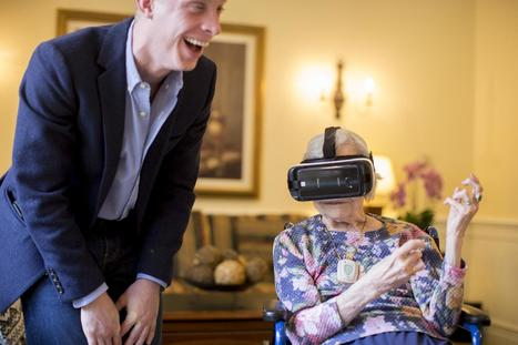 MIT startup lets seniors enter the world of virtual reality - The Boston Globe | cool stuff from research | Scoop.it