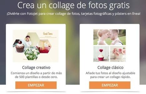 Fotojet: crear collages, tarjetas, pósters y diseños varios│@ClasedeMusica20 | Contar con TIC | Scoop.it