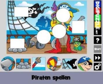 Nieuw op 'Digipuzzel - Leerspellen': 'Piraten spellen' | Edu-Curator | Scoop.it