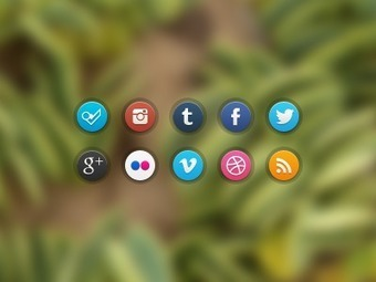 Olybop.info - Actualités Webdesign, Culture et Graphisme - » 50 PSD Gratuits de Dribbble | CRAW | Scoop.it