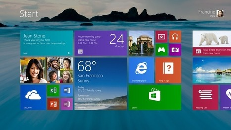 microsoft windows 8.1 preview - Info world | IT Helpdesk French | Scoop.it