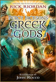 Percy Jackson's Greek Gods by Rick Riordan | New Books in the LMC Fall 2014 | Scoop.it