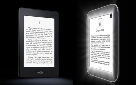 Specs Compared: Kindle Paperwhite vs. Nook Simple Touch With GlowLight | Life @ Work | Scoop.it