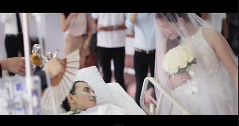 催淚!30歲生日要結婚竟驗出癌末 新郎病床吻妻圓夢 | 激勵感人 | Scoop.it