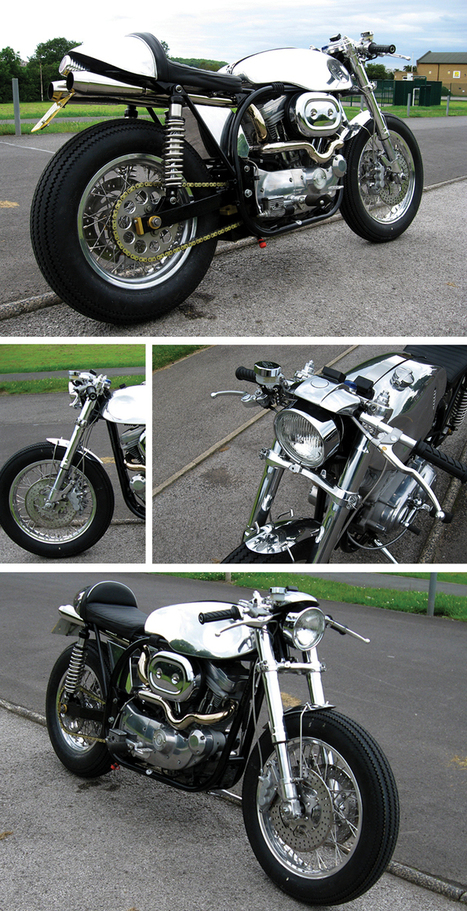 The Bullitt: Custom Harley Davidson 'Norley' Café Racer | vintage motos | Scoop.it