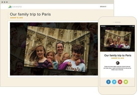 Animoto - Make & Share Beautiful Videos Online | ΤΠΕ | Scoop.it