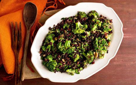Skillet Wild Rice, Walnut and Broccoli Salad - New York Times   Chef   Scoop.it