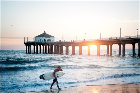 Manhattan Beach Walk with Fujifilm X-Pro1 | Sergey Sus Photography | Lightload towels | Scoop.it